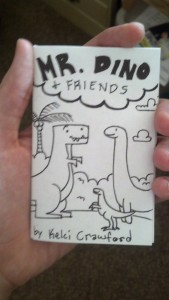 mr dino and friends mini comic