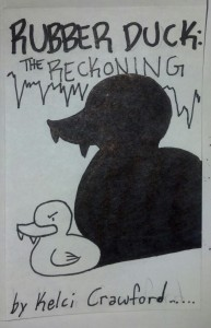 rubber duck the reckoning mini comic