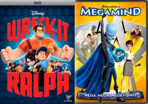 wreck it ralph and megamind covers