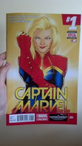 captain marvel number 1