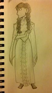 rosetta costume design