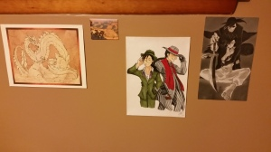 Art (left to right) by J Peffer, the Grand Canyon, Chloe Rose, and an artist on Tumblr (Sorry I can't remember your name!). Click to enlarge.