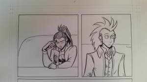 charlie and clow web comic in progress