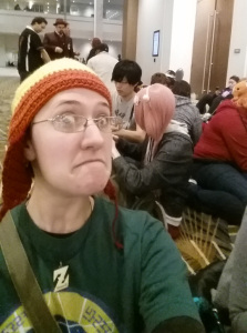 selfie in jayne hat at youmacon 2014