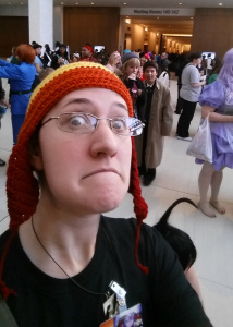 jayne hat at youmacon 2014 selfie