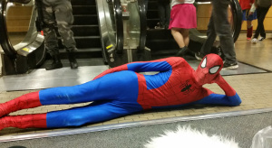 spiderman at youmacon 2014