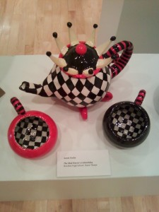 teapot set at focus exhibition bowling green state university