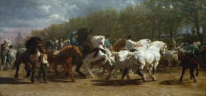 the horse fair painting by rosa bonheur