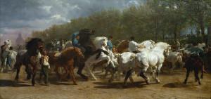 the horse fair painting by rosa bonheur