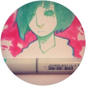 ark revner copic marker sketch art