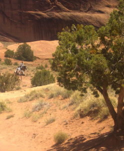 canyon du chelley horse riders