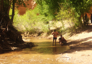 canyon du chelley river waders