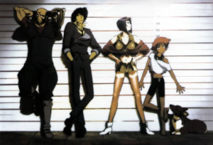 cowboy bebop anime group photo