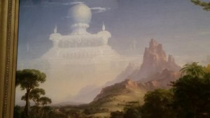 detail of thomas cole painting
