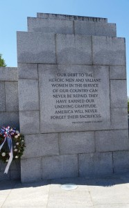 world war 2 memorial quotes on walls