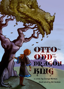 otto the odd and the dragon king cover