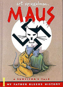 maus graphic novel comic book