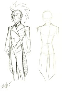 clow costume design for comic