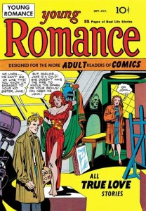 1940s romance comic books