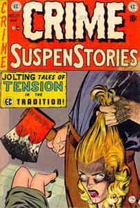 ec comics horror comic book cover