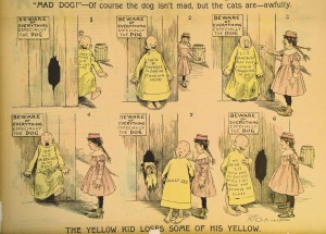 the yellow kid comic strip