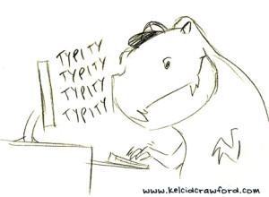 T rex typing