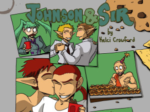 johnson and sir kickstarter banner