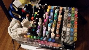 copic markers collection