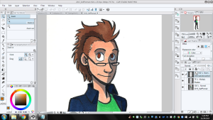 screen cap slip studio paint manga studio