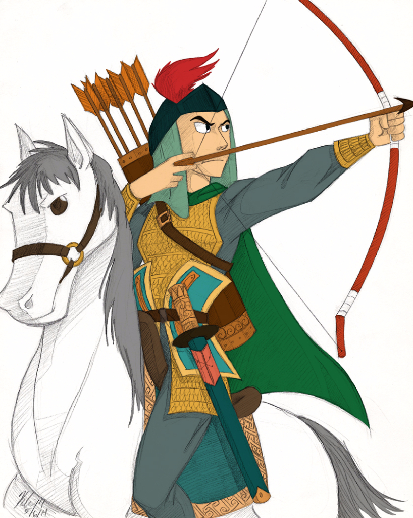 hua mu lan women warriors history