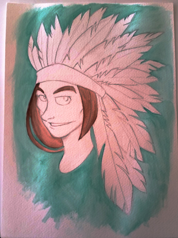 Native_American_Woman_Painting_1