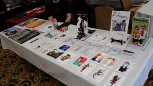 youngstown indie comics expo 2016 table