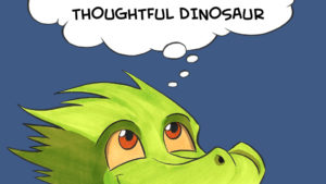 thoughtful dinosaur kickstarter promo