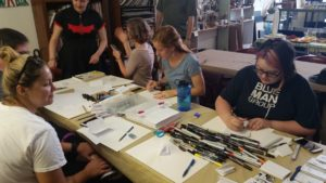 minicomic workshop