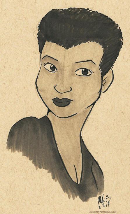 black history month jackie ormes cartoon sketch art
