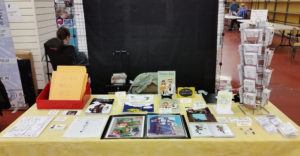 3 rivers comic con artist alley table 2017