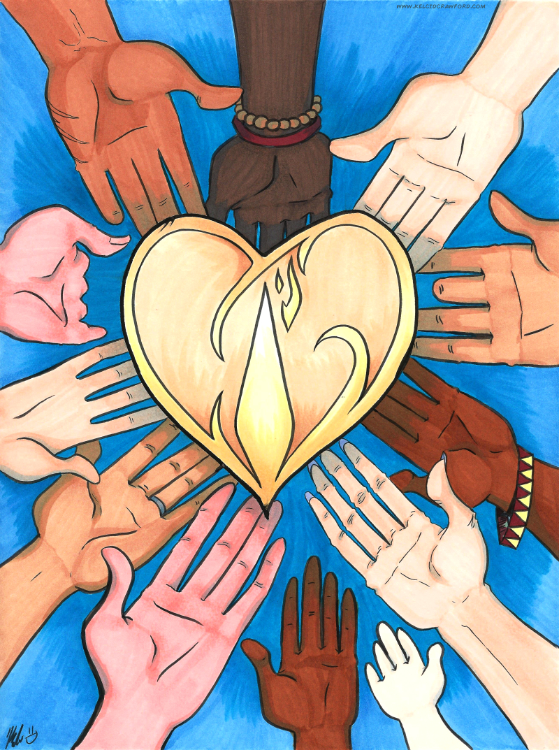 universalist unitarian illustration