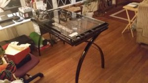 artist drafting table comic artist studio
