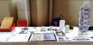 ywca mini comic con artist alley table