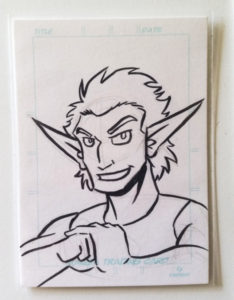 artist trading sketch card