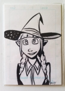 artist trading sketch card