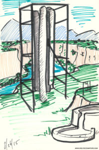 large chimes concept sketch