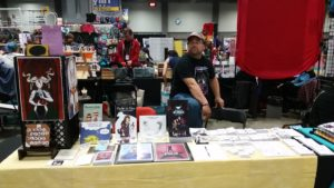 awesome con artist alley table