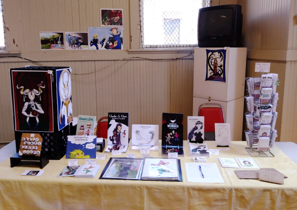 ywca minicon artist alley table 2018