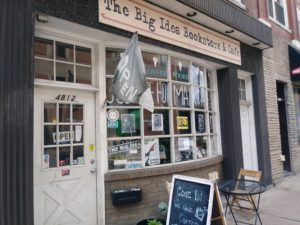 the big idea bookstore store front