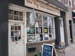 the big idea bookstore store front
