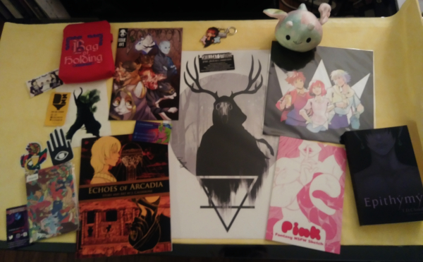 matsuricon artist alley convention haul