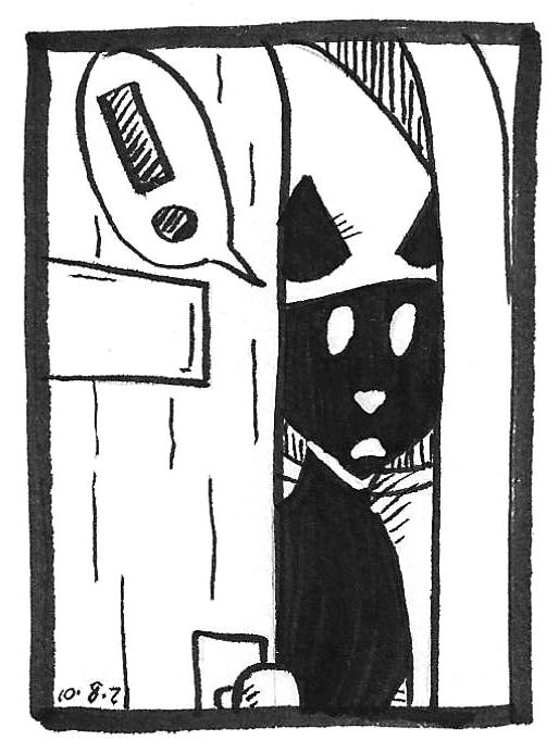 Inktober 2021 comics by kelci d crawford panel 11