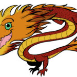 land of the nerds dragon logo