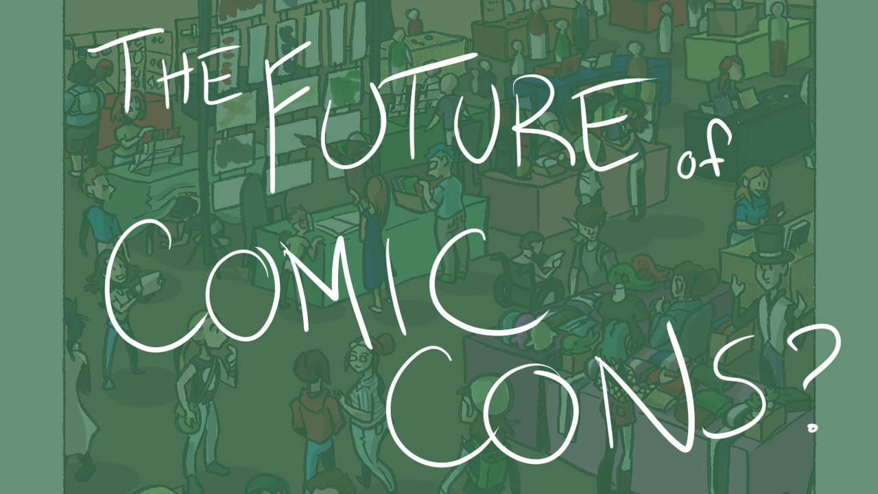 the future of comicons youtube thumbnail